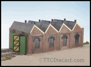 Wills kits CK12 Two Road Engine Shed